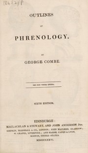 Cover of: Outlines of phrenology