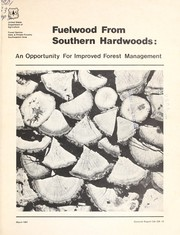 Cover of: Fuelwood from southern hardwoods | Daniel H. Sims