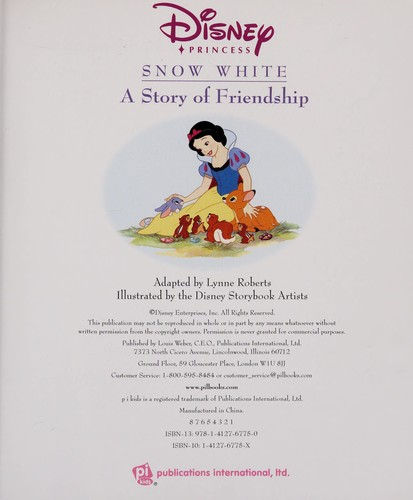 Snow White by Lynne Roberts