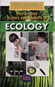 Cover of: Step-by-step science experiments in ecology