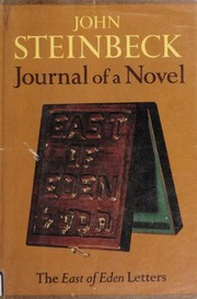 Cover of: Journal of a Novel: The East of Eden Letters