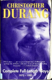 Cover of: Christopher Durang