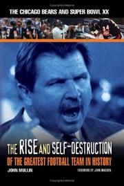Cover of: The Rise And Self-Destruction Of The Greatest Football Team In History