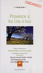Cover of: Provence & the Cote d