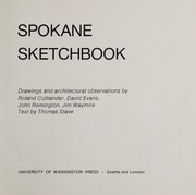 Cover of: Spokane sketchbook