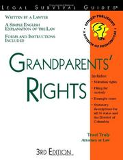 Grandparents Rights By Traci Truly