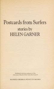Cover of: Postcards from surfers: stories