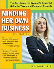 Cover of: Minding her own business