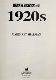 Cover of: 1920s | Margaret Sharman
