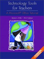 Cover of: Technology Tools for Teachers: A Microsoft Office Tutorial
