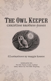 Cover of: The Owl Keeper | Chris Brodien-Jones