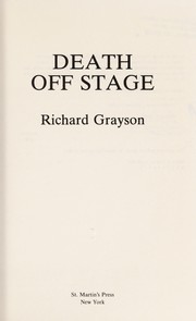 Cover of: Death off stage