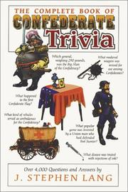 The complete book of Confederate trivia