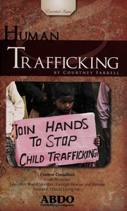 Cover of: Human trafficking | Courtney Farrell
