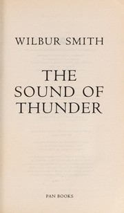 Cover of: The sound of thunder