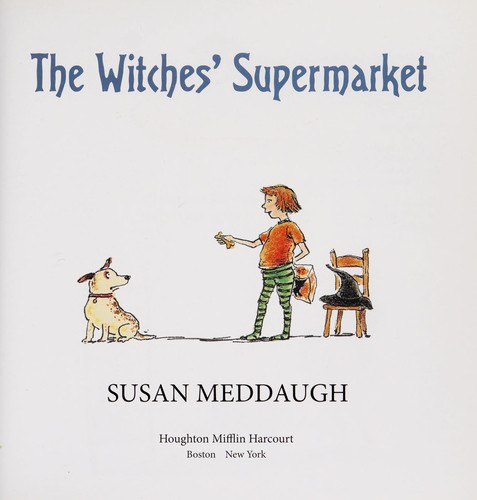 Witches' supermarket by Susan Meddaugh