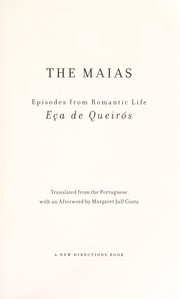 Cover of: The maias: episodes from romantic life