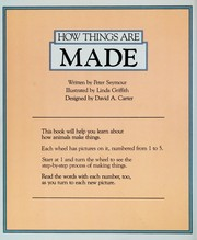 Cover of: How things are made