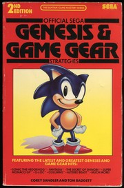 Official Sega Genesis and Game Gear strategies by Corey Sandler, Tom Badgett