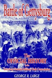 Cover of: Battle of Gettysburg