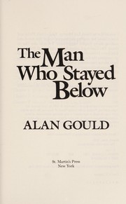 Cover of: The man who stayed below