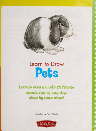 Learn to draw pets by Peter Mueller
