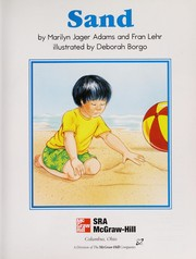 Cover of: Sand (Collections for Young Scholars, Book 2) | Marilyn Jager Adams