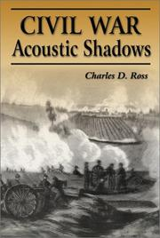 Cover of: Civil War acoustic shadows