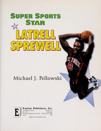 Super sports star Latrell Sprewell by Michael Pellowski