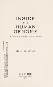 Cover of: Inside the human genome: a case for non-intelligent design