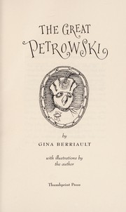 Cover of: The great Petrowski