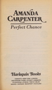 Cover of: Perfect Chance | Carpenter