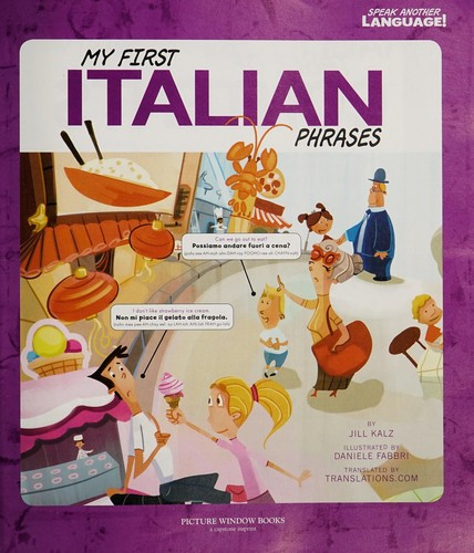 My first Italian phrases by Jill Kalz
