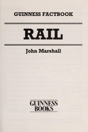 Cover of: Rail | Marshall, John