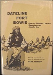 Cover of: Dateline Fort Bowie