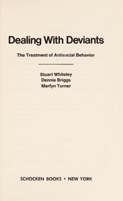 Cover of: Dealing with deviants