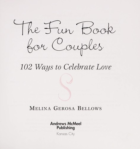 Cover Of The Fun Book For Couples Electronic Resource 102 Ways To