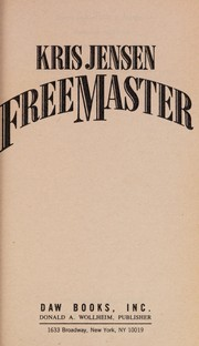 Cover of: Freemaster | Kris Jensen