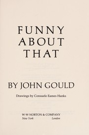 Cover of: Funny about that | Gould, John