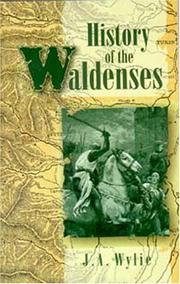 Cover of: History of the Waldenses | J. A. Wylie