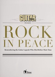 Cover of: Rock in peace |