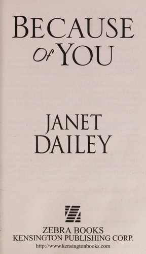Because of you by Janet Dailey