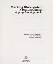Cover of: Teaching kindergarten