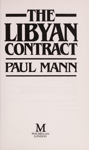 Cover of: The Libyan Contract