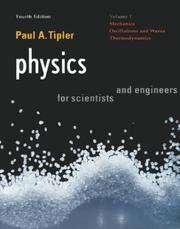 Cover of: Physics For Scientists and Engineers: Vol. 1