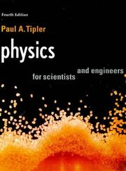 Cover of: Physics For Scientists & Engineers International Version