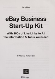Cover of: EBay business start-up kit: with 100s of live links to all the information & tools you need
