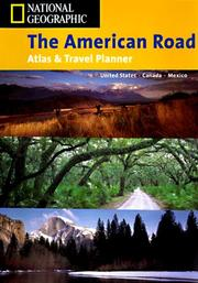 Cover of: National Geographic the American Road | National Geographic Society