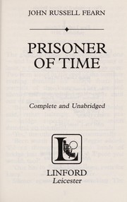 Cover of: Prisoner of time