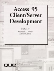 Cover of: Access 95 client/server development